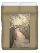 Pathway Duvet Cover by Melissa Petrey
