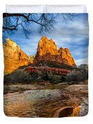 Patriarchs of Zion Duvet Cover by Chad Dutson