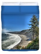 Patrick's Point Landscape Duvet Cover by Adam Jewell