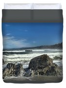 Patrick's Rocks Duvet Cover by Adam Jewell