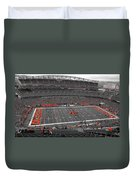 Paul Brown Stadium Duvet Cover by Dan Sproul