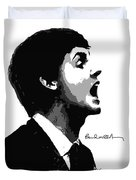 Paul Mccartney No.01 Duvet Cover by Unknow