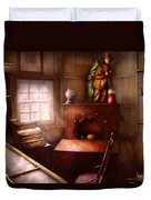 Pawn - In The Pawn Shop Duvet Cover by Mike Savad