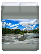 Payette River Duvet Cover by Robert Bales
