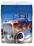 Peddle Car Duvet Cover by Mike McGlothlen