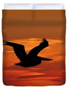 Pelican Profile Duvet Cover by Al Powell Photography USA