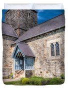 Penmon Priory Duvet Cover by Adrian Evans