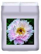 Peony Flower Duvet Cover by Edward Fielding