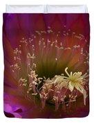 Perfectly Pink Duvet Cover by Saija  Lehtonen