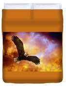 Perseverance Duvet Cover by Lois Bryan