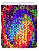 PHONE CASE ART COLORFUL INTRICATE ABSTRACT GEOMETRIC DESIGNS BY CAROLE SPANDAU 129 CBS ART EXCLUSIVE Duvet Cover by CAROLE SPANDAU