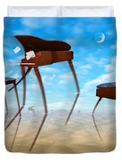 Piano Valley Duvet Cover by Mike McGlothlen