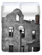 Pieces Of Alcatraz Island Duvet Cover by Cheryl Young
