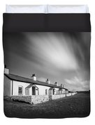 Pilot Cottages Duvet Cover by Dave Bowman