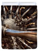 Pilot - Plane - Engines at the ready  Duvet Cover by Mike Savad