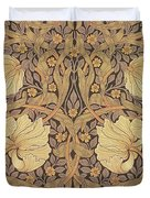 Pimpernel Wallpaper Design Duvet Cover by William Morris