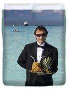 Pina Colada Anyone Duvet Cover by David Smith