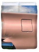 Pink Fins Duvet Cover by Bill Cannon