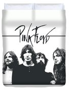 Pink Floyd No.05 Duvet Cover by Caio Caldas