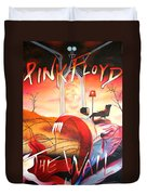 Pink Floyd The Wall Duvet Cover by Joshua Morton
