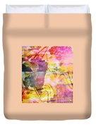 Pink Vineyard Plumps Duvet Cover by PainterArtist FIN