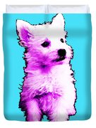 Pink Westie - West Highland Terrier Art By Sharon Cummings Duvet Cover by Sharon Cummings