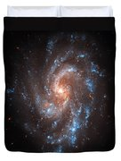 Pinwheel Galaxy Duvet Cover by The  Vault - Jennifer Rondinelli Reilly