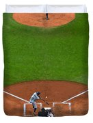Play Ball Duvet Cover by Frozen in Time Fine Art Photography