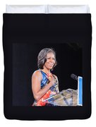 Political Ralley Duvet Cover by Ava Reaves