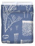 Polyopes Polyideoides Okamura Duvet Cover by Aged Pixel