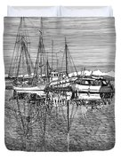 Port Orchard Reflections Duvet Cover by Jack Pumphrey