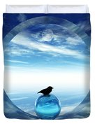Portal To Peace Duvet Cover by Richard Rizzo