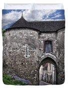 Porte Saint-jean Duvet Cover by Nikolyn McDonald