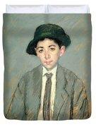 Portrait Of Charles Dikran Kelekian Duvet Cover by Mary Stevenson Cassatt