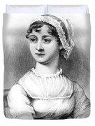 Portrait Of Jane Austen Duvet Cover by English School