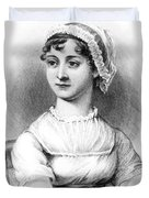 Portrait of Jane Austen Duvet Cover by English School