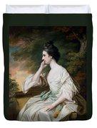 Portrait Of Miss Anne Dutton Duvet Cover by Francis Cotes