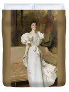 Portrait Of The Countess Of Clary Aldringen Duvet Cover by John Singer Sargent