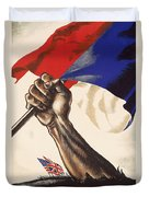 Poster For Liberation Of France From World War II 1944 Duvet Cover by Anonymous