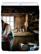 Potters Shed Duvet Cover by Scott Thorp
