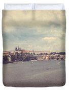 Prague Days II Duvet Cover by Taylan Soyturk