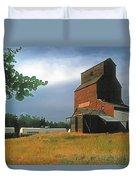 Prairie Sentinel Duvet Cover by Terry Reynoldson