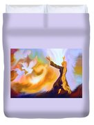 Praise Him Duvet Cover by Susanna  Katherine