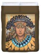 Pre-inca 3 Duvet Cover by Jane Whiting Chrzanoska