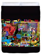 precious is man for he is created in the Divine Image 13 Duvet Cover by David Baruch Wolk