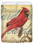Pretty Bird 1 Duvet Cover by Debbie DeWitt