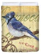 Pretty Bird 4 Duvet Cover by Debbie DeWitt