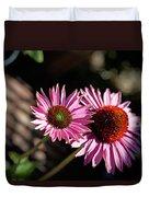 Pretty Flowers Duvet Cover by Joe Fernandez
