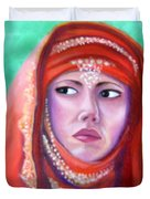 Princess Sibylla Duvet Cover by Lora Duguay