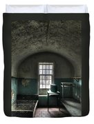 Prison Cell Duvet Cover by Jane Linders